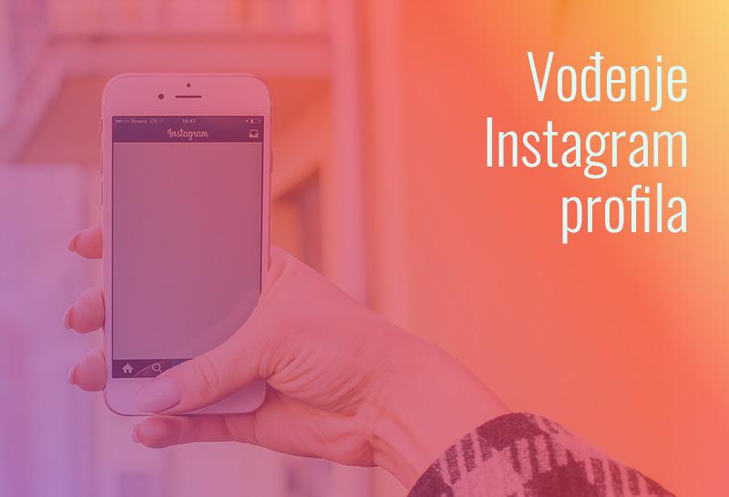 vođenje instagram profila